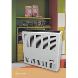 CTZ Calefactor 6000 Tiro Natural Compacto