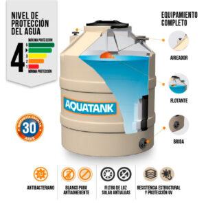 Tanque Aquatank 400 Litros Tricapa Arena