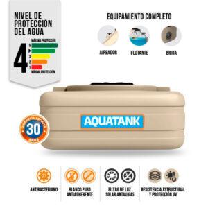 Tanque Aquatank 600 Litros Tricapa Cuadrado