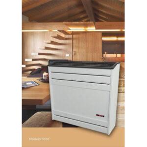 CTZ Calefactor 6000 Tiro Natural Línea Pesada