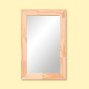 Reflejar Espejo Clásico Colgar Rectangular Madera 39×59