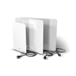 Calden Calefactor Eléctrico Vidrio Chato  Blanco 1000